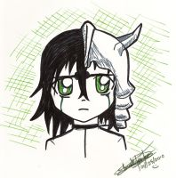 Chibi Ulquiorra... or whatever by daniparra