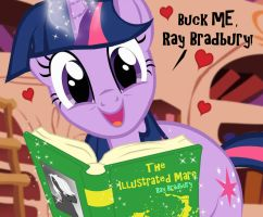 Twilight's Favorite Writer by PixelKitties