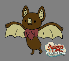 My Adventure Time Oc - Hay Bat by Kyt666