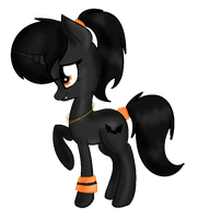 Halloween Pony Adopt //CLOSED// by SNlCKERS