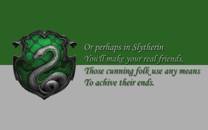 Slytherin Wallpaper by iclethea