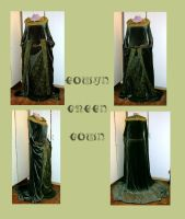 Eowyn - Green Gown by Gewandfantasien