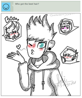 ask monster Tom and the eddsworld gang 2 by BannaBerryCake