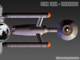 I.S.S. DAEDALUS for STAR TREK - BREAKABLE 01 by ulimann644