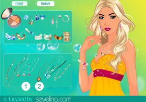 New makeover game by sevelina