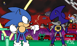 Colors! 3D - Battle at Stardust Speedway by RGXSuperSonic