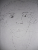 Unfinished horrible pic of harry by convict123