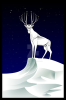 The Stag by sibelian