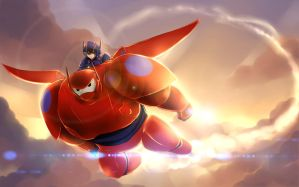 Big Hero 6 by KurosakiSasori-kun