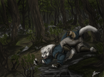 Cursed - Commission by KeksWolf