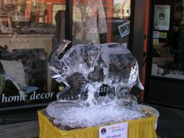 Ice Sculpture 13 by ItsAllStock