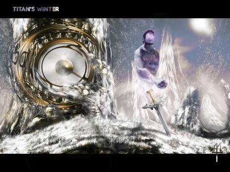 42nd: Titan's winter by MaestroTomberi