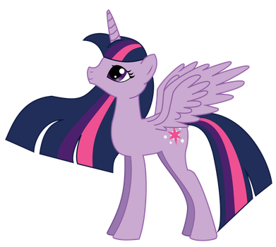 Twilight Sparkle the Alicorn by Angelkitty17