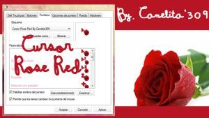 Cursor Red Rose by SriitaDeWatt