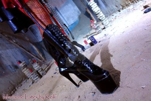Crawl for your Mistress! 3 by mariannelatex