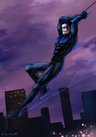 Nightwing by akensnest