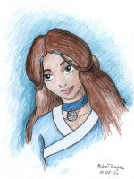 Katara portrait by Xpuk