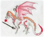 Ichigo Dragon by Roseyred-1