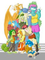 All In The Family by DawnAllies