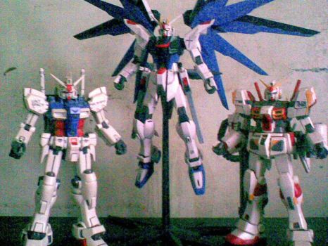 fredom gp01 gundam05 by cloud-tifa13