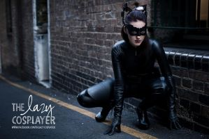 The Lazy Cosplayer as Selina Kyle/Catwoman by TheLazyCosplayer