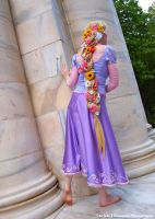Flower braid by cupcakecosplay