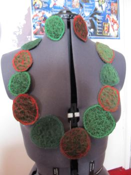 Green and Red Circle Jewellery by FroggyTheSuperhero
