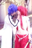 .:Erza+Jellal:. by SecondImpactCosplay