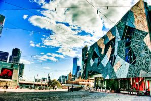 Federation Square by addr010