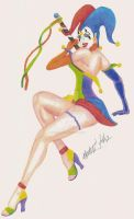 Harlequin by AnneRiceBowl