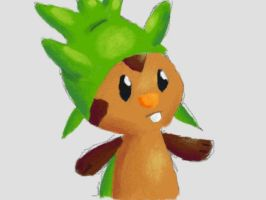 Chespin by Quacksquared