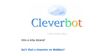 Wow... Cleverbot wow... by Sugerpie56