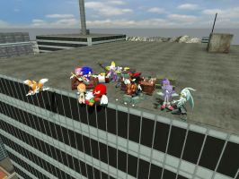 Sonic Party xP by BlackPaladinV