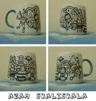 Doodle on cup.4 by azahGTA