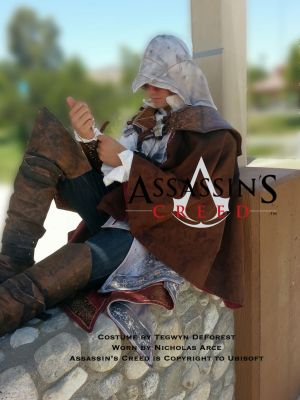 Assassin's Creed 2, Ezio Auditore by TegwynDeForest