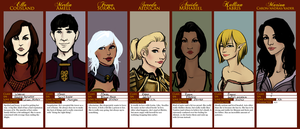 DAO Warden Line Up by LostAcanthus