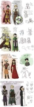 Marvel X Got crossover : the Avengers in Westeros by Grandkhan