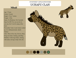 [Un-Divided] Mbali Character Sheet_UCHAFU CLAN by The-Smile-Giver