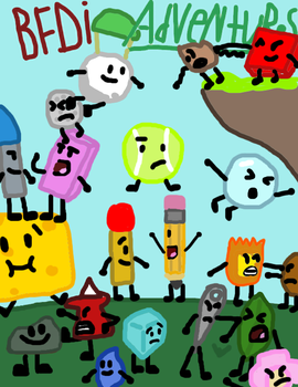 BFDI Comic Title Page by WellRead