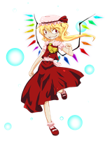 Flandre Scarlet by Cahindta