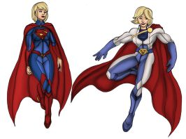 Super Designs for Kara and Karen by isorod