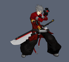 Ragna the Bloodedge by nijiooezt