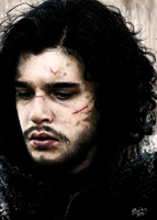 Jon Snow by ylxiaa
