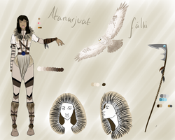Inuit Warrior - Contest Entry by Casey-The-Fruit-Cake