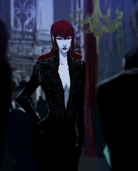 Blood Queen by Banished-shadow