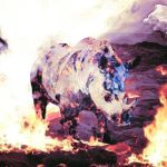 Ode to Rhino collection: A burning species by SammyJackles