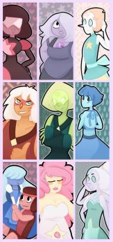 Steven Universe Bookmarks by Vogelchan