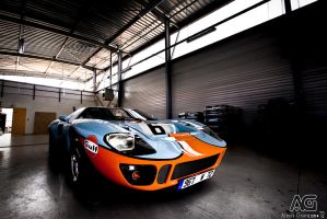 Ford GT40 by alexisgoure