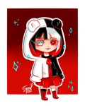 Monokuma girl by IgnaciaH