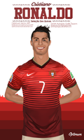 ''CR7'' Vector | Mobile Size by SemihAydogdu